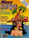 Micro News n°23 - Juillet/Aout 1989