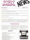 MSX News n°1 - Novembre 1986