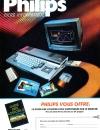 Publicité Philips pour le MSX2 - MNS-8235. Publié dans le magazine de Janvier/Février de MSX News (n°2).