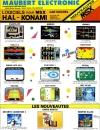 Publicité parue dans le numéro 2 de MSX News pour le magasin parisien Maubert Electronic.