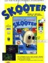 Publicité pour le jeu Skooter édité par EagleSoft et créé par ByteBusters. Le jeu fut lancé en 1987