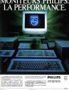 Publicité pour les moniteur Philips sortis en 1987.