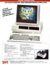 Publicité pour le X'Press 16, un compatible PC et MSX sorti en 1986.
