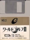 World Golf II - Enix - MSX2