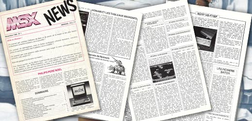 MSX News n°01