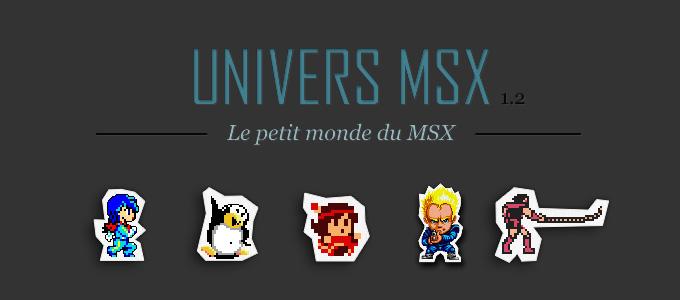 Univers MSX